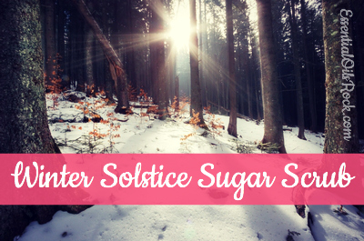 Winter Solstice Sugar Scrub